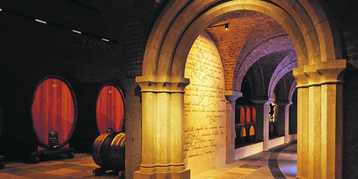 Schnörkellose Weine aus barocken Mauern
