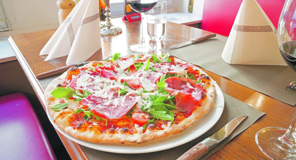 Basels knusprigste Pizza