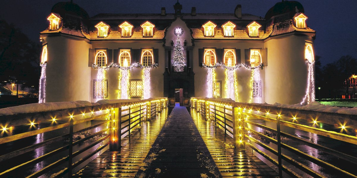 Weihnachtsstimmung im Schloss