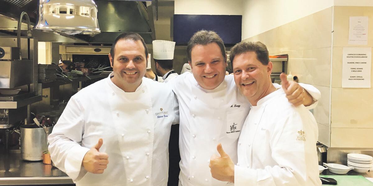 3-Sterne-Koch zu Gast  im Schloss