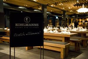 KOHLMANNS – essen & trinken