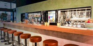 CAFE BAR BLACK 1966
